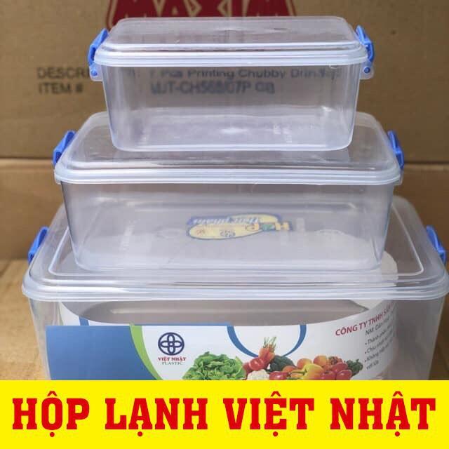 Combo 3 Hộp Lạnh Bảo Quản Thực Phẩm Việt Nhật Tiện Ích