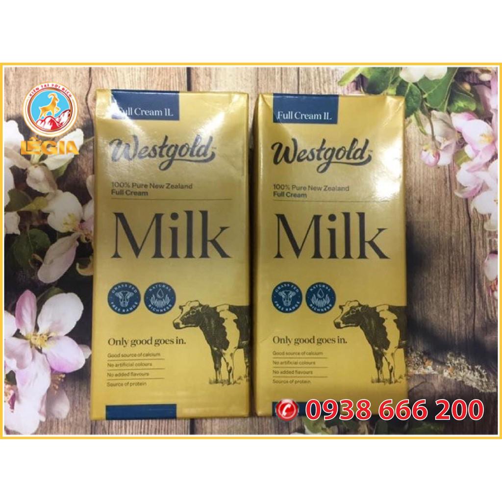 Sữa Tươi Tiệt Trùng Nguyên Kem WESTGOLD 1L