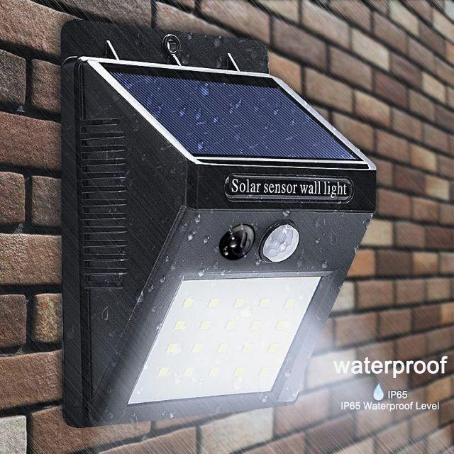 Đèn cảm biến năng lượng mặt trời - Đèn thông minh V3 -