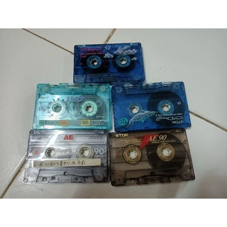 bán nhanh 5 cuốn băng cassette bãi nhật xịn sò thumbnail