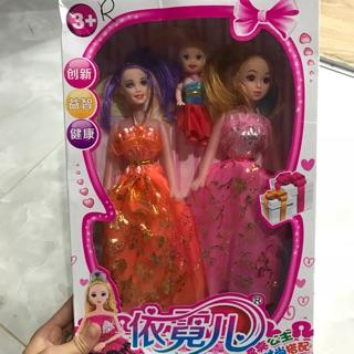 Bộ búp bê công chúa siêu rẻ