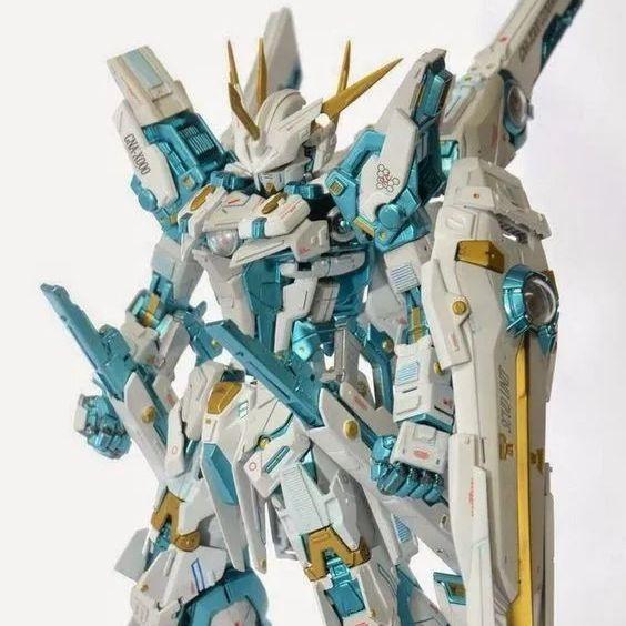 !! Mô hình cao HG Taipan 1/144 Gundam 00-54 00R Seven Swords Assault Zaku Mobile Suit Assembly
