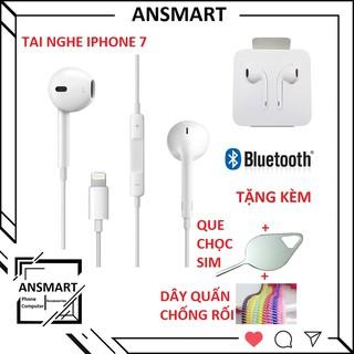 [Mã ELFLASH1 hoàn 10K xu đơn 20K] Tai nghe có dây iphone cho IP7/7plus/8/8plus/X /XSmax/XR/11-11promax ( ANSMART )