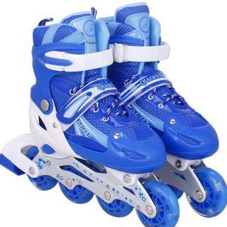 Giày trượt patin kèm bảo hộ