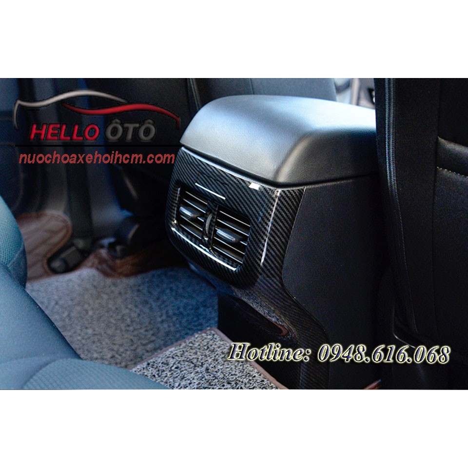 Ốp Cacbon Bảo Vệ Trụ Con Ngựa Mazda CX5 2018