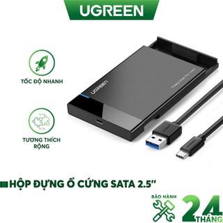 Hộp Đựng Ổ Cứng 2.5 Inch USB 3.0 Ugreen 30847 (HDD Box 2,5 ) - Hàng Chính Hãng thumbnail