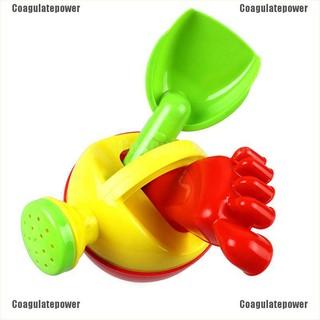 【Coagulatepower】 1set Kids Flower Pot Sand Beach Toys Baby Bath Water Toys Funny Educational Tool