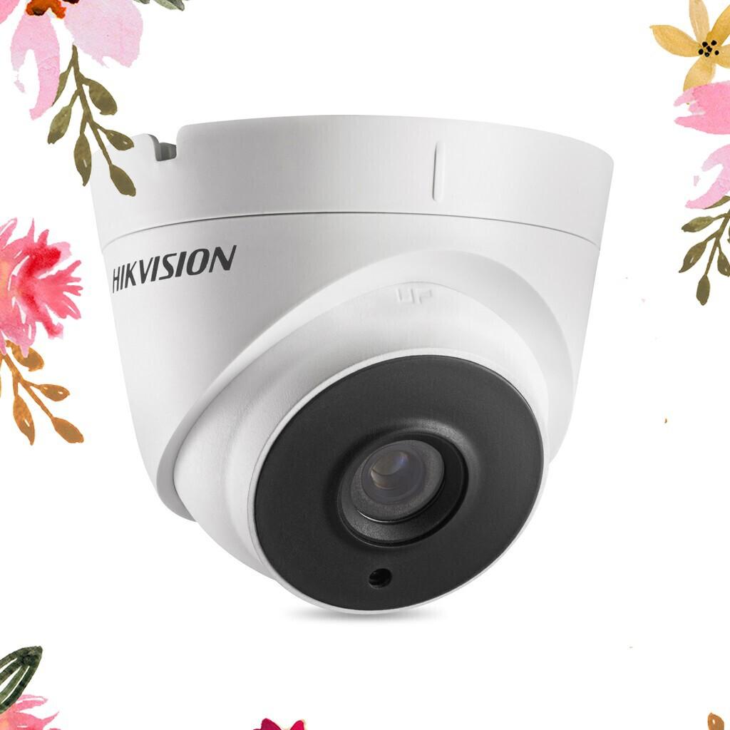 (Rẻ Shock Nhiệt) Camera HD-TVI bán cầu ngoài trời 1 MP HIKVISION DS-2CE56C0T-IT3-Màu trắng