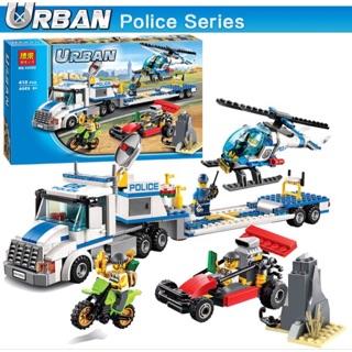 Lego City Urban -police seri 10422 Xe tải vận chuyển trực thăng thumbnail