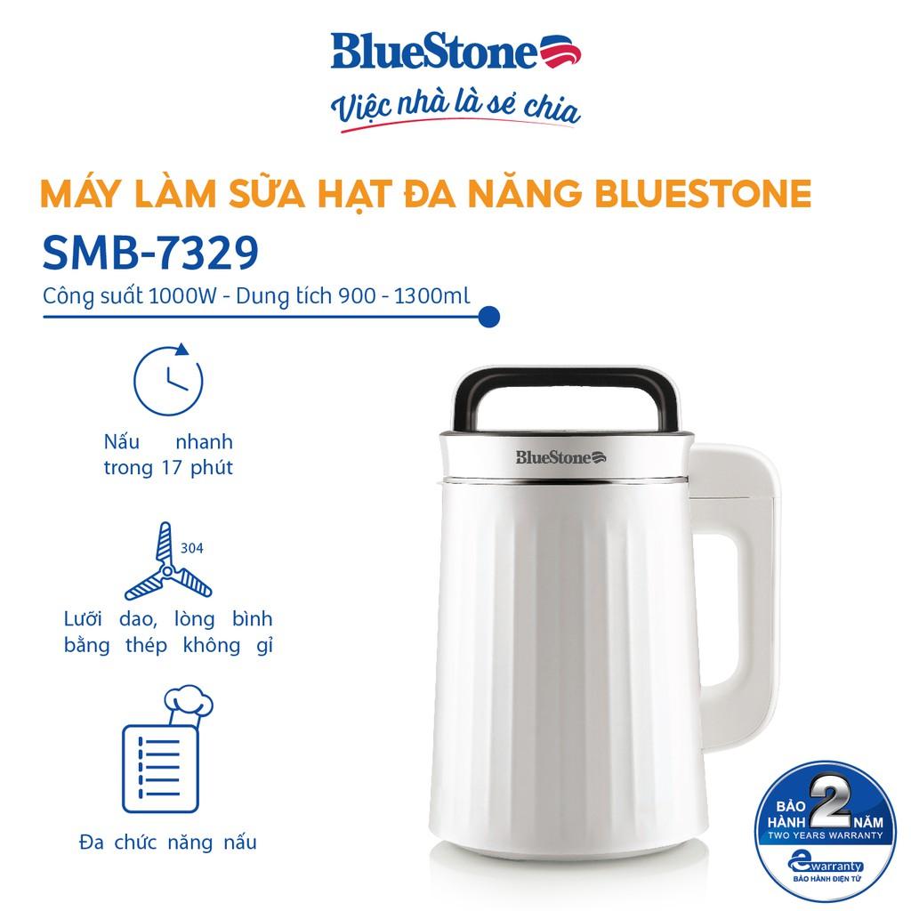 [Mã ELBLUE10 giảm 5% đơn 500k] Máy làm sữa hạt đa năng BlueStone SMB-7329