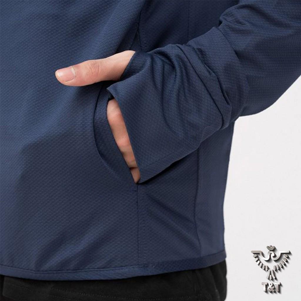 Áo chống nắng nam vải kim cương thoáng mát thấm hút mồ hôi chống tia uv AK01