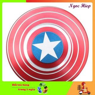 [GIÁ SIÊU RẺ] Con quay Fidget Spinner Captain American cho bé cực chất siêu bền
