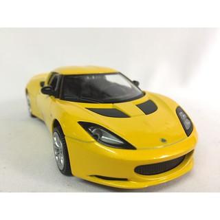 Mô hình xe Ô TÔ LOTUS EvoraS & Elise S2 tỷ lệ 1:32