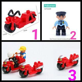 (Video) Lego xe máy tương thích lego duplo thumbnail