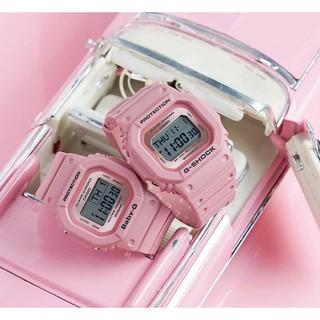 Đồng Hồ Đôi Casio G-shock & Baby-G LOV-18B-4DR Chính Hãng - Dây Nhựa G-Shock & Baby-G LOV-18B-4D Couple thumbnail