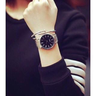 Đồng hồ nam nữ cặp đôi dây thép không gỉ sang trọng thumbnail