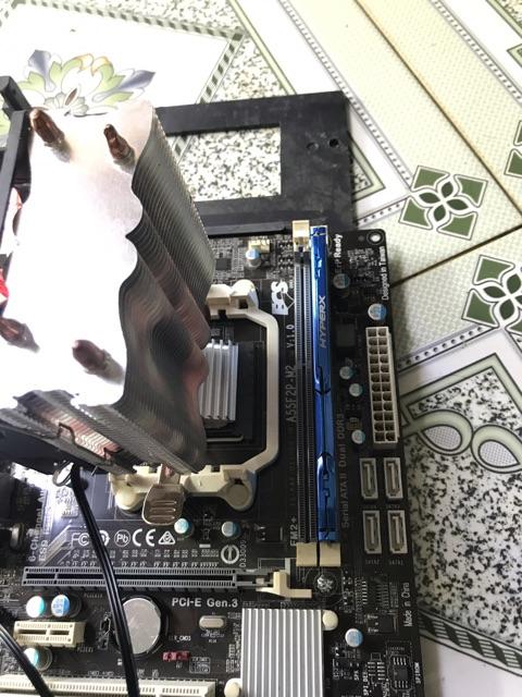 Cpu+ A8 5600 ngang i5 + Main Asus A55F2B tặng kèm quạt tản khí