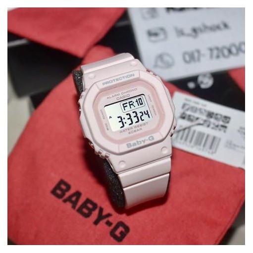 Đồng Hồ Nữ Dây Cao Su BABY-G BGD-560-4 Chính Hãng