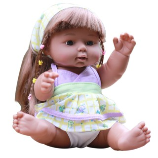 lindsayll Realistic Simulation Dolls Cuddle Baby Soft Body Newborn Gift Cute Baby Girl