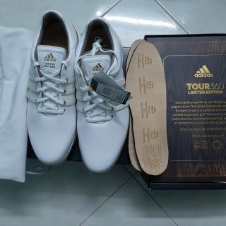 Giày adidas Golf Boost Tour360 2.0 bản LIMITED EDITION Trắng DB3551 – Size 8UK