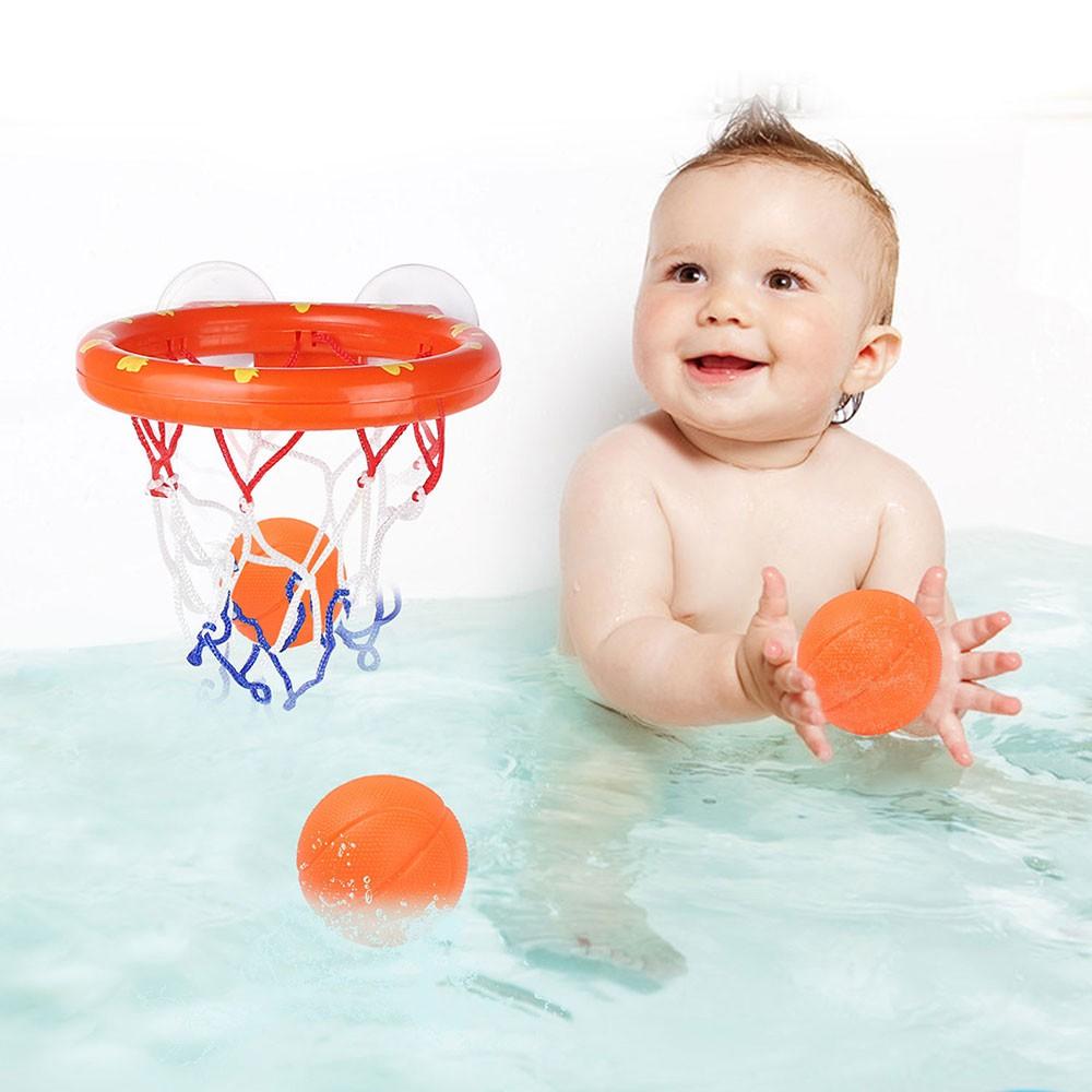 Đồ chơi bóng rổ trong bồn tắm cho bé