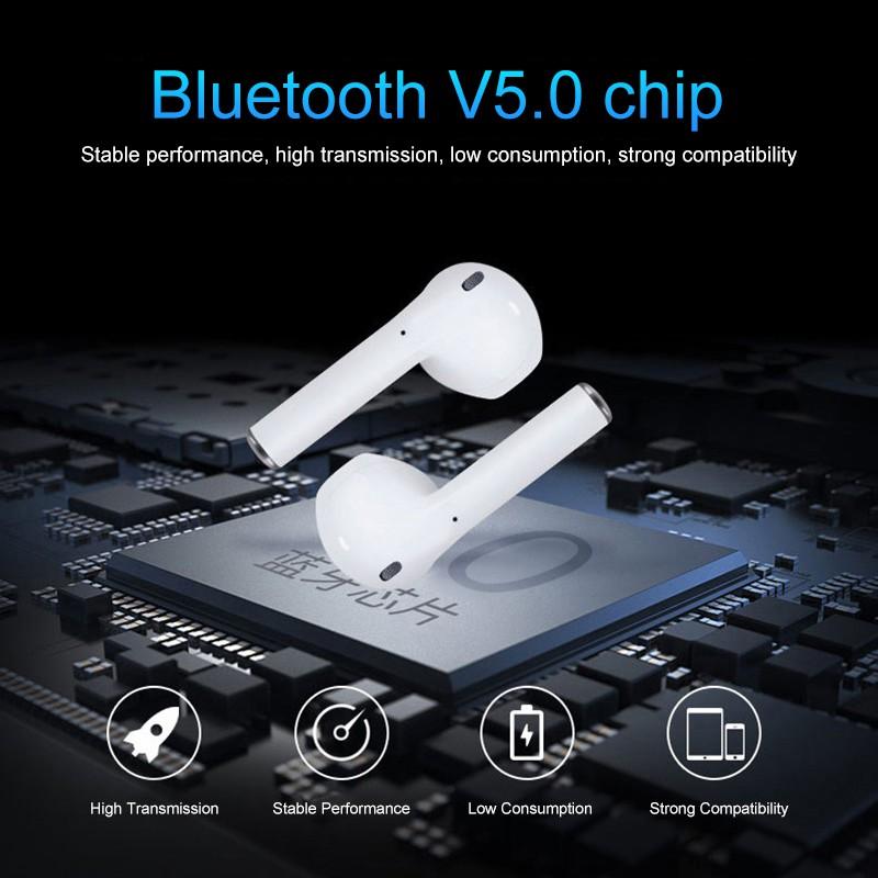 Tai nghe bluetooth không dây i12 TWS mini nhỏ gọn
