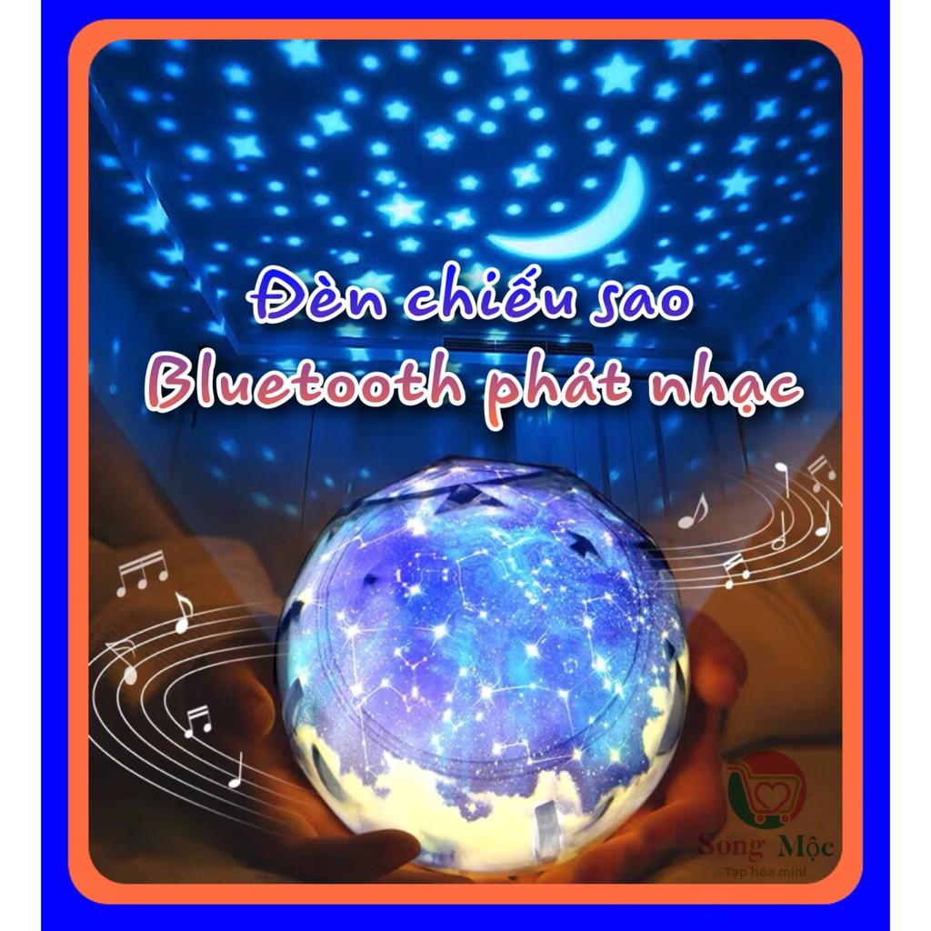 Đèn chiếu sao ngân hà,sinh nhật,xoay tự động,đèn led đèn ngủ có remote điều khiển, hẹn giờ mới Kèm hộp quà