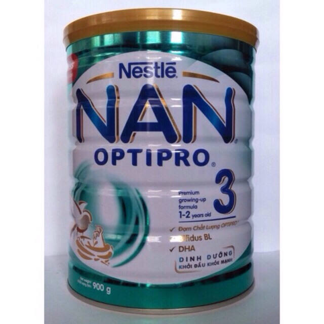 Combo 2h Sữa Nan 3 mẫu mới ( date 4-2019)
