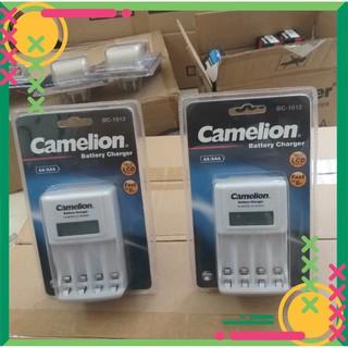 [BÁN CHẠY] Máy sạc BC-1012 Camelion , máy sạc Pin AA, AAA sạc nhanh báo đèn đo dung lượng pin