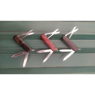 Dụng cụ đa năng victorinox classic vỏ gỗ DIY