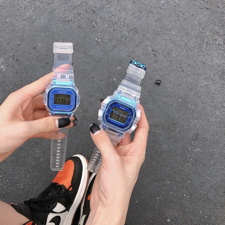 Đồng hồ đeo tay thời trang Shhors nam nữ cực đẹp DH69 tiện dụng