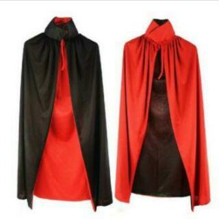 Áo choàng ma cà rồng 2 mặt đen đỏ.