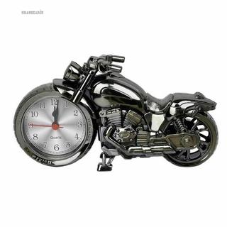 Alarm Clock Motorcycle Motorbike Quartz Home Birthday Decal Decoration