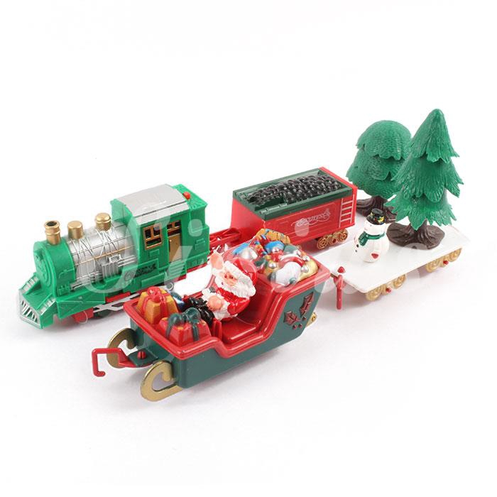 Charming Decoration Wood Wooden Musical Train Ornament Decor Children Gifts