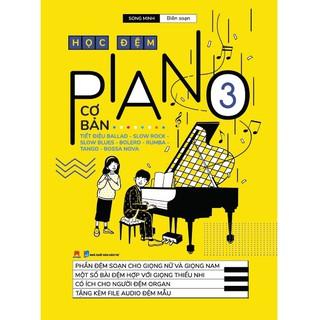 Sách - Học Đệm Piano Cơ Bản 3