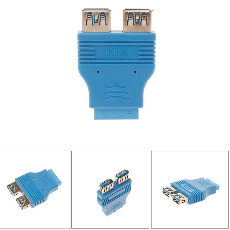 Bo mạch chủ đôi USB 3.0 loại A 20 pin