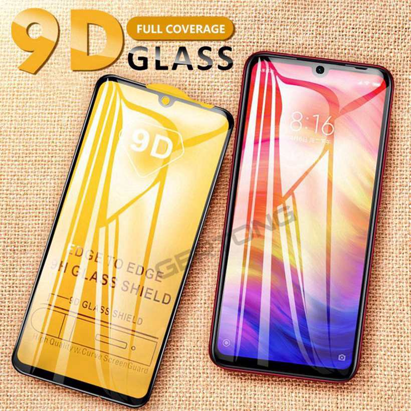 Xiaomi Redmi 6 7 Pro 6A GO 5 5A S2 4 4X 4A Tempered Glass Screen Protector Film Rounded Edges
