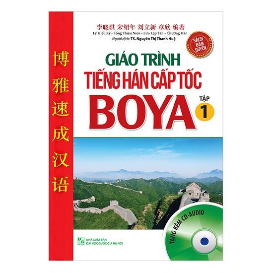 Giáo trình tiếng Hán cấp tốc BOYA - tập 1 kèm CD - 9999586 , 1246525203 , 322_1246525203 , 69000 , Giao-trinh-tieng-Han-cap-toc-BOYA-tap-1-kem-CD-322_1246525203 , shopee.vn , Giáo trình tiếng Hán cấp tốc BOYA - tập 1 kèm CD