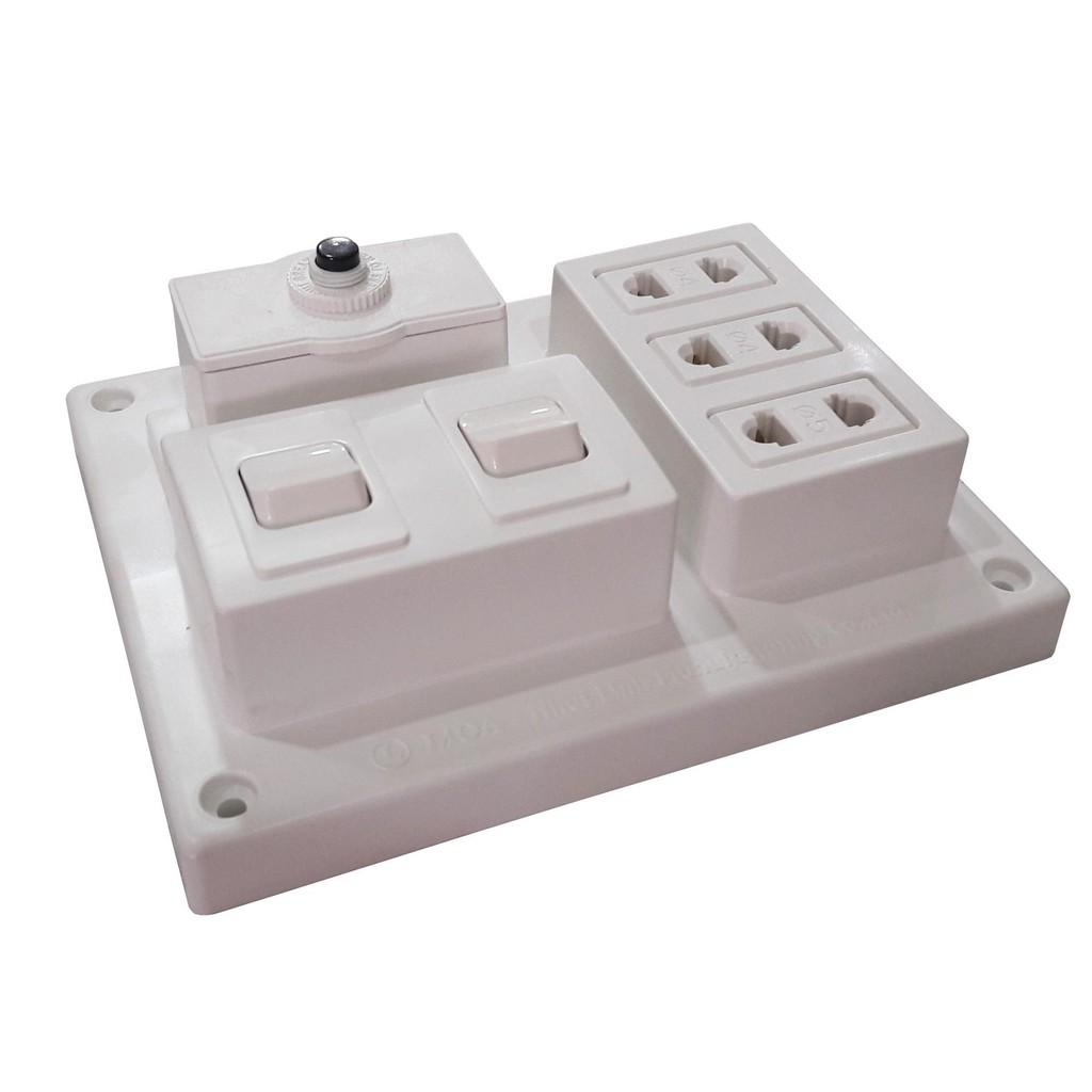 Bảng điện nổi LiOA 15A 3 ổ cắm 2 công tắc B-CB15A2C - 3320565 , 1342922884 , 322_1342922884 , 57000 , Bang-dien-noi-LiOA-15A-3-o-cam-2-cong-tac-B-CB15A2C-322_1342922884 , shopee.vn , Bảng điện nổi LiOA 15A 3 ổ cắm 2 công tắc B-CB15A2C