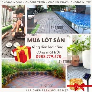 Tấm nhựa lót sàn ban công 3T-Special – Vỉ Lót sàn nhựa nhà tắm,sân vườn,sân thượng,bể bơi- Hàng Việt Nam xuất khẩu