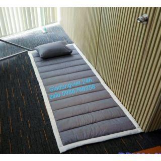 Nệm ngủ văn phòng/ nệm ký túc xá (Bộ nệm + Gối+túi size 90cm×180cm)