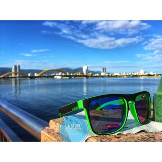 kính mát thời trang Qik (màu xanh lá đen)