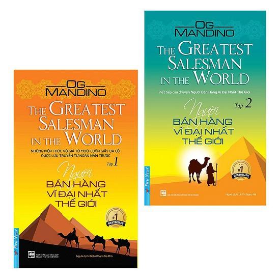 (Hot deal) Sách - Combo Người Bán Hàng Vĩ Đại Nhất Thế Giới (2 Tập)