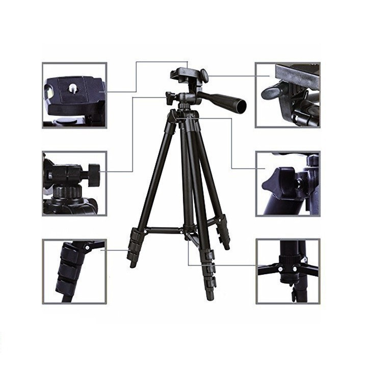 Gậy hỗ trợ chụp ảnh, livestream Tripod suport 3120