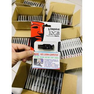 [Mã ELFLASH5 giảm 20K đơn 50K] Usb Kingston DataTraveler SWIVL 32GB USB 3.0 DTSWIVL/32GB