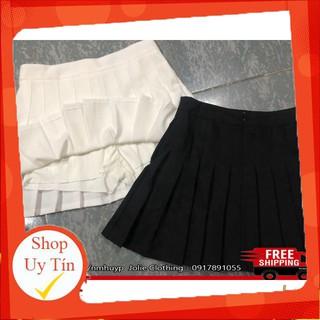 Chân váy xếp ly Tennis Skirt Chữ A Dáng Ngắn Thiết kế xếp ly đẹp rực rỡ