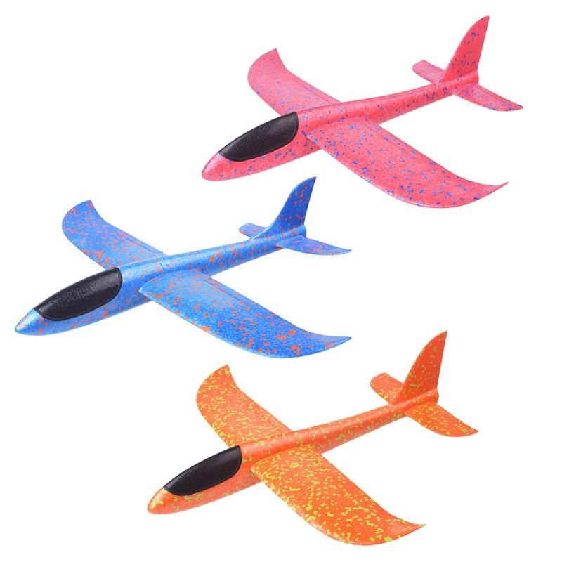 Tay khởi động ném máy bay lượn quán tính bọt eva máy bay đồ chơi