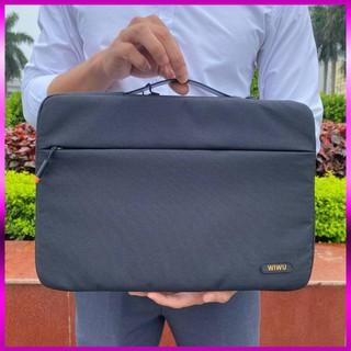 [Hỏa Tốc - Nhanh - Tiết Kiệm] Túi xách chống sốc WIWU Pilot Sleeve cho Macbook Laptop - 13 14 15 16 inch (Màu đen) thumbnail
