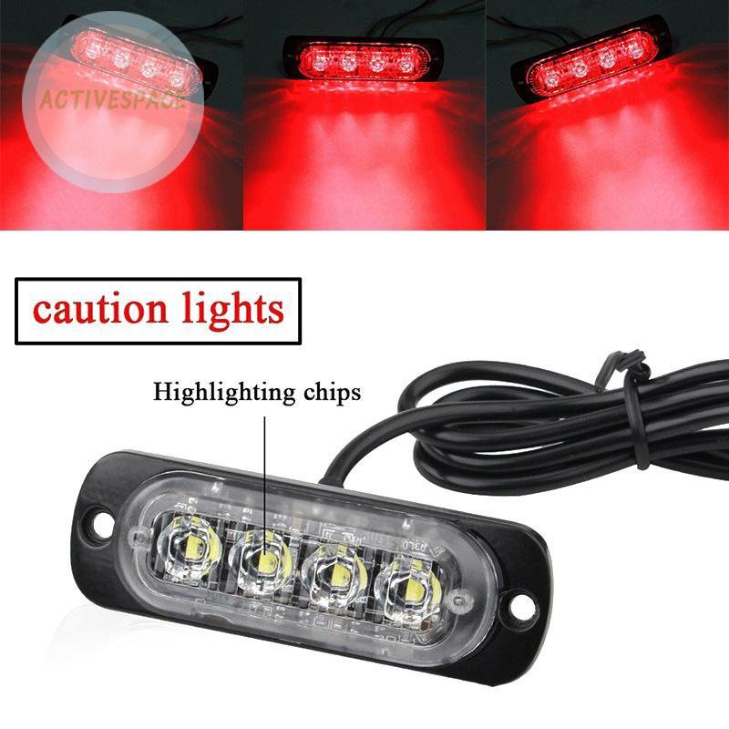 Bộ đèn LED khẩn cấp 12V-24V 36W chuyên dụng cho xe tải
