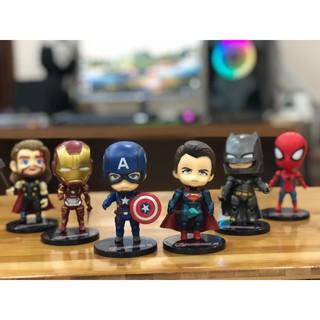 Mô Hình Nhân Vật Avenger Siêu Anh Hùng Chibi( Cả 6 Em ) thumbnail